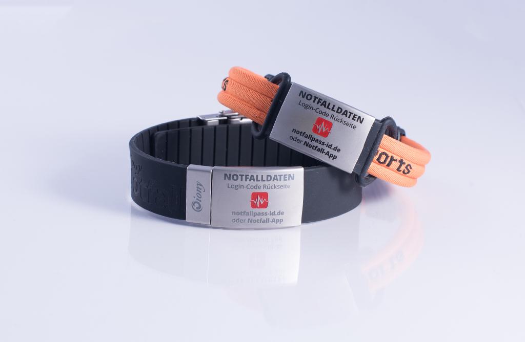 Notfallarmbänder