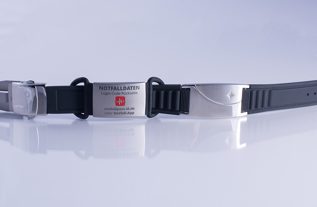 Magnetarmband Schwarz